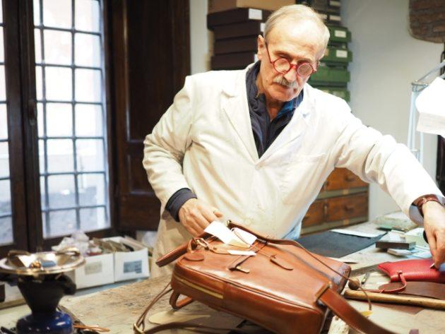"""ローマの""""熟練職人""""アルドさんが作るハンドメイドの革製品!心に響くイタリアの革製品たち"""